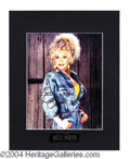Autographs, Dolly Parton Signed Matted Photo