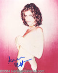 Autographs, Amanda Peet In-Person Signed Photo