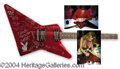 Autographs, Incredible Signed Custom Playboy Guitar w/ Hefner & 16Playmates!