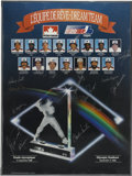 Autographs:Letters, 1988 Montreal Expos Team Signed Poster. The Montreal Expos teamposter distributed by Petro-Canada has been signed by playe...