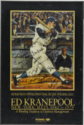 Baseball Collectibles:Others, Ed Kranepool and America's Pastime Signed Posters Lot of 2 . Thefirst signed poster is a from an original painting by Joe W...