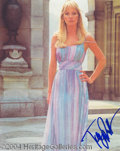 Autographs, Tanya Roberts Signed 007 Photo
