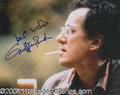 Autographs, Geoffrey Rush Signed Shine Photo