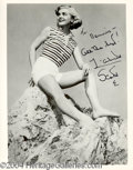 Autographs, Lizabeth Scott Signed Photograph