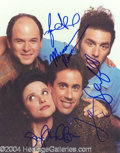 Autographs, Seinfeld Cast Signed Photo