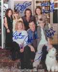 Autographs, 7th Heaven In-Person Cast Signed Photo