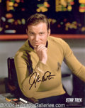Autographs, William Shatner Signed Star Trek Photo