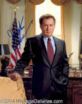 Autographs, Martin Sheen Signed West Wing Photo