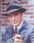 Autographs, Robert Stack Signed Untouchables Photo