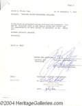 Autographs, Sylvester Stallone Rare Signed Document