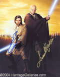 Autographs, Star Wars Episode II Dual Signed Photo