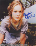 Autographs, Julia Stiles In-Person Signed Photo
