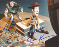 Autographs, Toy Story Allen/Hanks Signed Photo