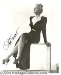 Autographs, Claire Trevor Sexy Signed Photo
