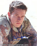 Autographs, Mark Wahlberg In-Person Signed Photo