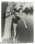 Autographs, Esther Williams Signed Photograph