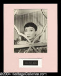 Autographs, Anna May Wong Signed Photograph