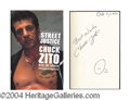 Autographs, Chuck Zito In-Person Signed Book