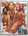 Autographs, Blind Melon Rare Group Signed Photo