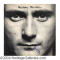 Autographs, Phil Collins Signed Face Value Album