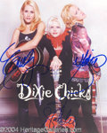 Autographs, The Dixie Chicks In-Person Signed Photo
