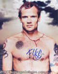 Autographs, Flea RHCP In-Person Signed Photo