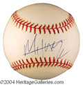 Autographs, Mick Jagger Signed Baseball