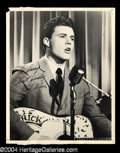 Autographs, Rick Nelson Vintage Signed Photo