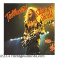 Autographs, Ted Nugent In-Person Signed Album