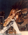 Autographs, Ted Nugent In-Person Signed Photo