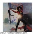 Autographs, Grace Slick Signed Original Album
