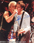 Autographs, The Who Daltrey & Townshend Signed Photo