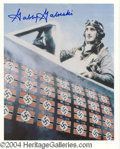 Autographs, Gabby Gabreski WWII Ace Signed Photo Lot