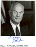 Autographs, John Glenn Signed 8 x 10 Photo