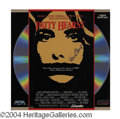 Autographs, Patty Hearst Rare Signed Laserdisc Cover