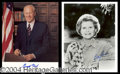 Autographs, Gerald & Betty Ford Signed 8 x 10 Photo Lot