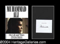 Autographs, Muhammad Ali Signed Hardcover Book