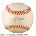 Autographs, Yogi Berra Yankees Signed Baseball