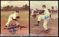 Autographs, Brooklyn Dodger Greats Signed Photo Lot