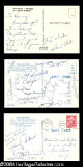 Autographs, 1957 Brooklyn Dodgers Signature Set PSA/DNA