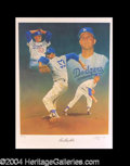 Autographs, Don Drysdale Signed Artist Proof Litho