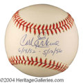 Autographs, Carl Erskine Signed Baseball