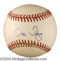 Autographs, Travis Fryman Signed Baseball