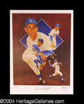 Autographs, Sandy Koufax Beautiful Signed Paluso Litho