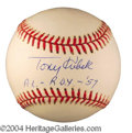 Autographs, Tony Kubek Signed Baseball PSA/DNA