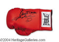 Autographs, Sugar Ray Leonard & Dundee Signed Glove