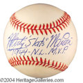 Autographs, Marty Marion Signed Baseball