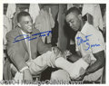 Autographs, Willie Mays & Monte Irvin Signed Photo