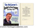 Autographs, Tim McCarver Signed First Edition Book