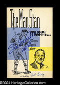 Autographs, Stan Musial Signed Book